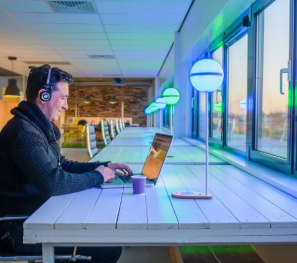 flex werkplek verlichting