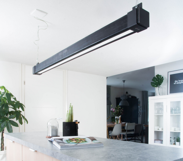 Steellight balklamp LED it beam Vierkant