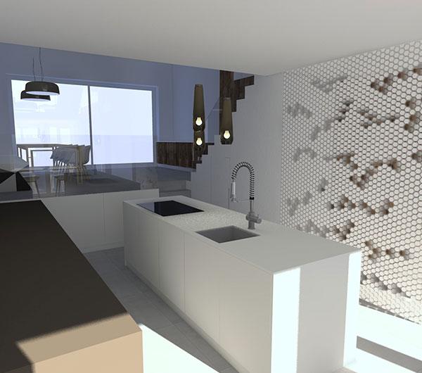 Lichtplan woonhuis