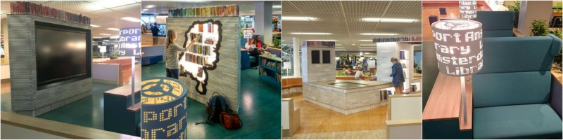 bibliotheek verlichting
